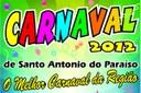 CARNAVAL 2012 - EM SANTO ANTONIO DO PARAÍSO